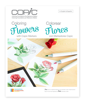 Picture of Copic Colouring Flowers
