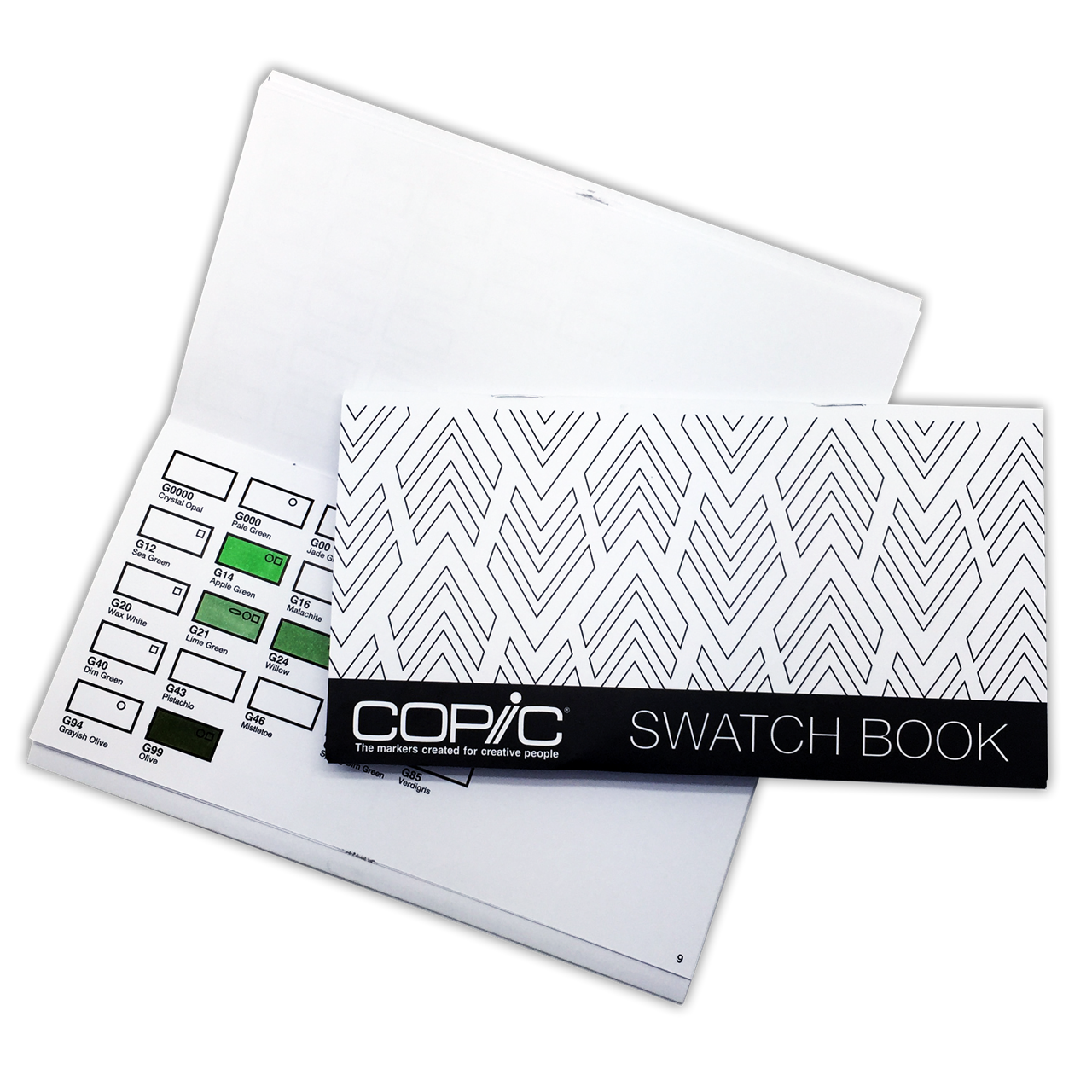 Copic Australia Copic Colour Swatch Book
