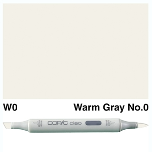 Picture of Copic Ciao W0-Warm Gray No.0