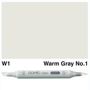 Picture of Copic Ciao W1-Warm Gray No.1