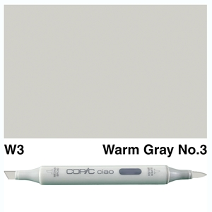 Picture of Copic Ciao W3-Warm Gray No.3