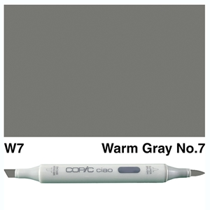 Picture of Copic Ciao W7-Warm Gray No.7