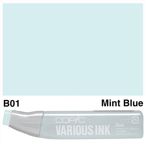 Picture of Copic Ink B01-Mint Blue