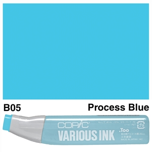 Picture of Copic Ink B05-Process Blue