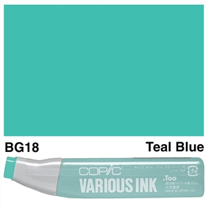 Picture of Copic Ink BG18-Teal Blue