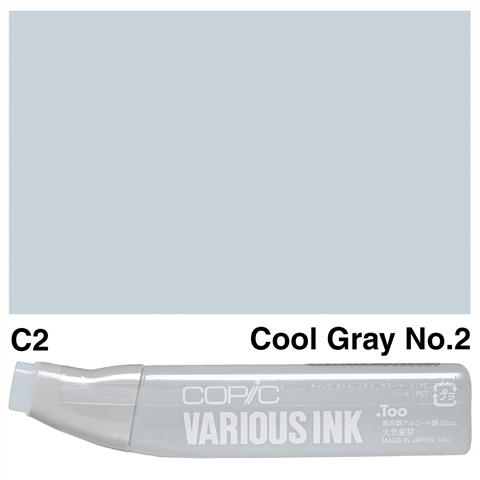 Picture of Copic Ink C2-Cool Gray No.2