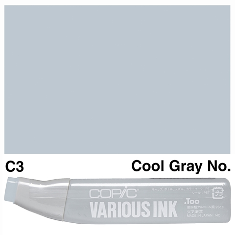 Picture of Copic Ink C3-Cool Gray No.3