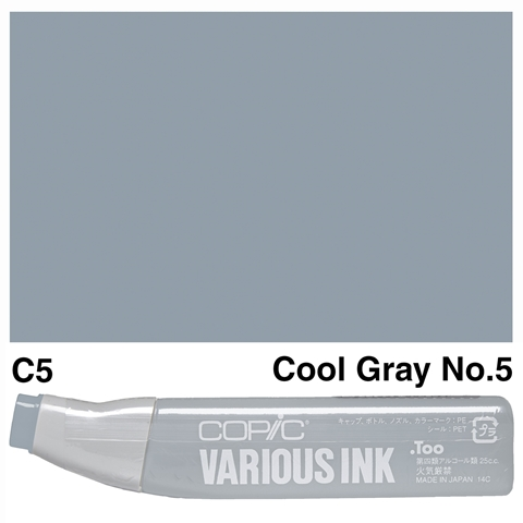 Picture of Copic Ink C5-Cool Gray No.5