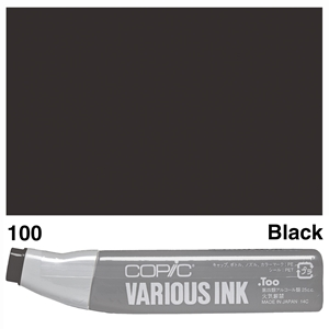 Picture of Copic Ink 100-Black