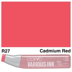 Picture of Copic Ink R27-Cadmium Red