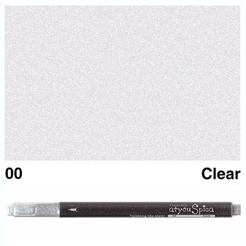 Picture of at you Spica Glitter Pen Clear