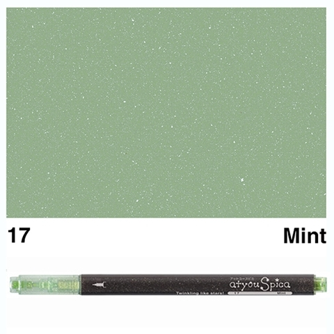 Picture of at you Spica Glitter Pen Mint