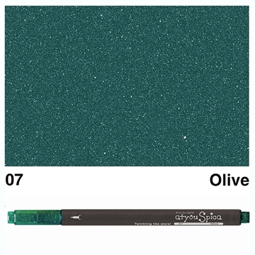 Picture of at you Spica Glitter Pen Olive