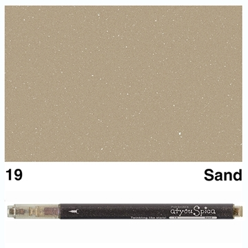 Picture of at you Spica Glitter Pen Sand