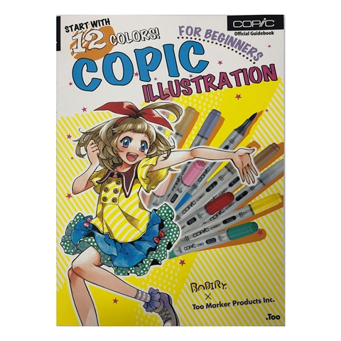 Picture of Copic Book- Copic Illustration for Beginners