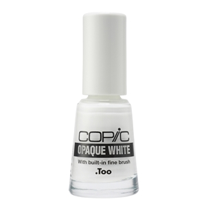 Picture of Copic Opaque White with Brush