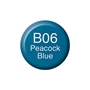Picture of Copic Ink B06 - Peacock Blue 12ml