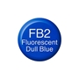 Picture of Copic Ink FB2 - Fluorescent Dull Blue 12ml
