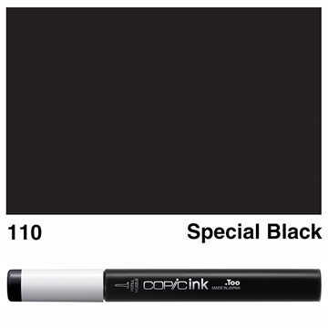 Picture of Copic Ink 110 - Special Black 12ml