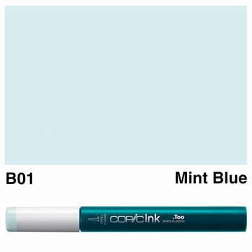 Picture of Copic Ink B01 - Mint Blue 12ml