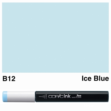Picture of Copic Ink B12 - Ice Blue 12ml