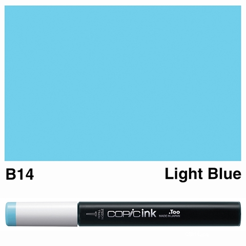 Picture of Copic Ink B14 - Light Blue 12ml