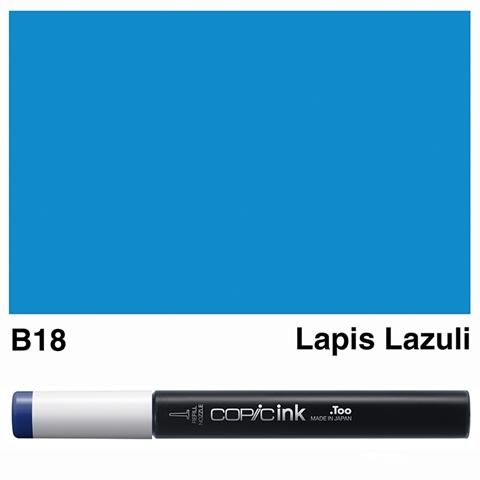 Picture of Copic Ink B18 - Lapis Lazuli 12ml