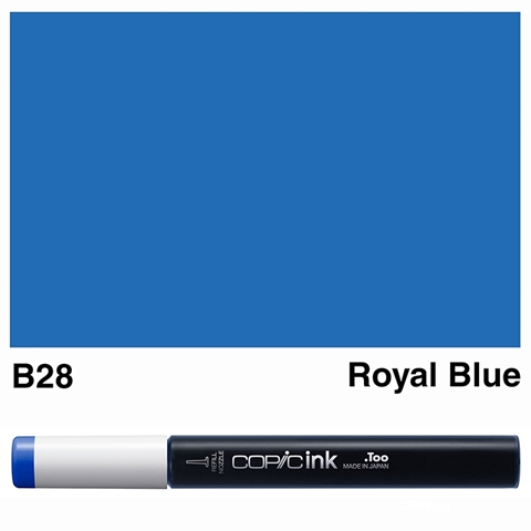 Picture of Copic Ink B28 - Royal Blue 12ml