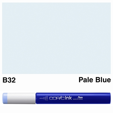 Picture of Copic Ink B32 - Pale Blue 12ml