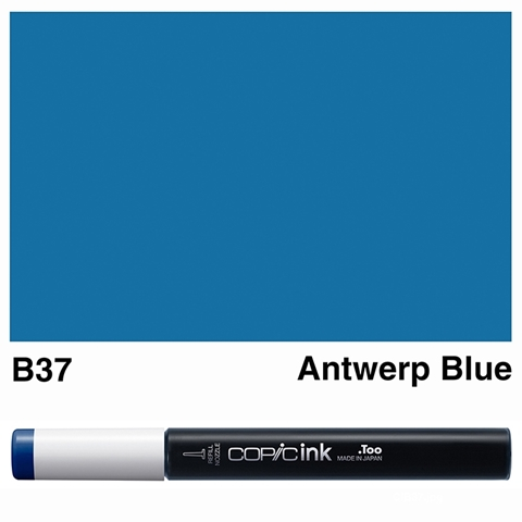 Picture of Copic Ink B37 - Antwerp Blue 12ml