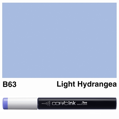 Picture of Copic Ink B63 - Light Hydrangea 12ml
