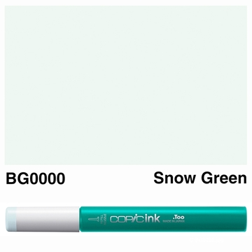Picture of Copic Ink BG0000 - Snow Green 12ml