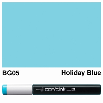 Picture of Copic Ink BG05 - Holiday Blue 12ml