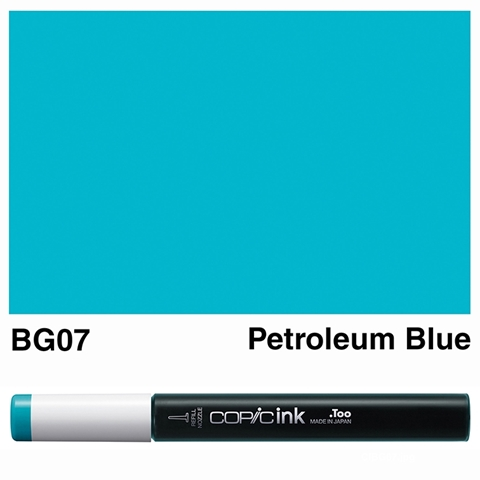 Picture of Copic Ink BG07 - Petroleum Blue 12ml