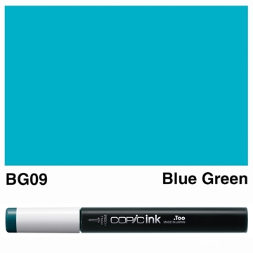 Picture of Copic Ink BG09 - Blue Green 12ml