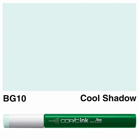Picture of Copic Ink BG10 - Cool Shadow 12ml