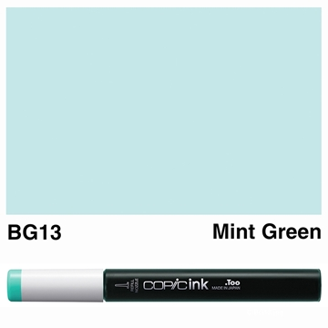 Picture of Copic Ink BG13 - Mint Green 12ml