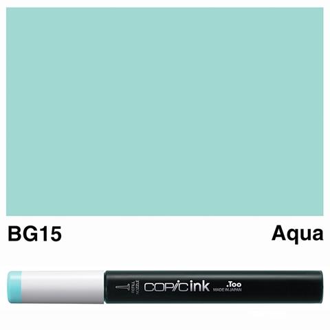 Picture of Copic Ink BG15 - Aqua 12ml
