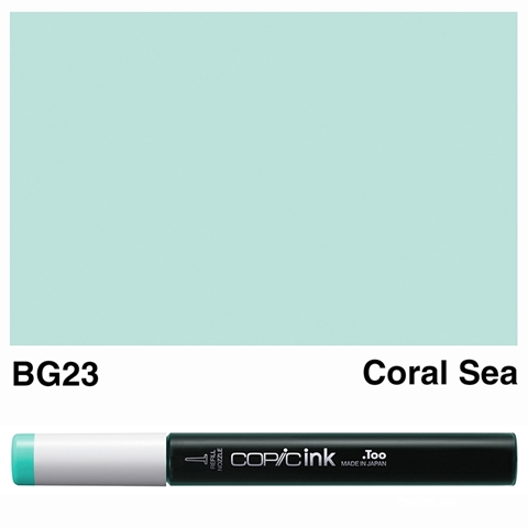 Picture of Copic Ink BG23 - Coral Sea 12ml