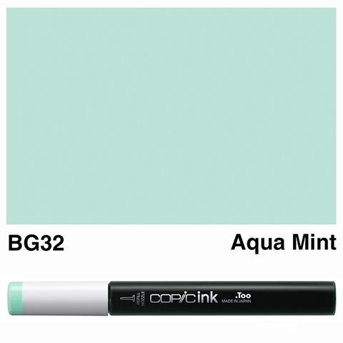 Picture of Copic Ink BG32 - Aqua Mint 12ml