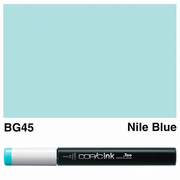 Picture of Copic Ink BG45 - Nile Blue 12ml