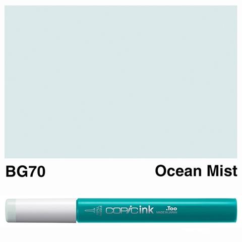 Picture of Copic Ink BG70 - Ocean Mist 12ml