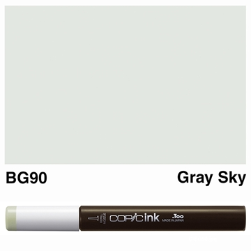 Picture of Copic Ink BG90 - Gray Sky 12ml