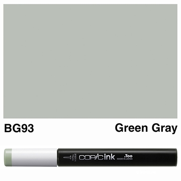 Picture of Copic Ink BG93 - Green Gray 12ml