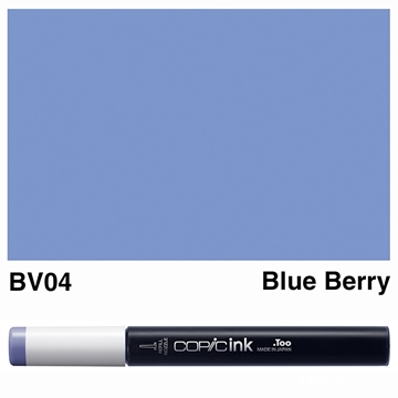 Picture of Copic Ink BV04 - Blue Berry 12ml