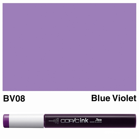 Picture of Copic Ink BV08 - Blue Violet 12ml