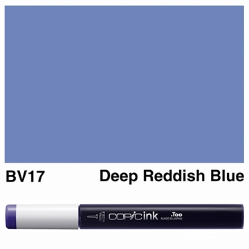 Picture of Copic Ink BV17 - Deep Reddish Blue 12ml