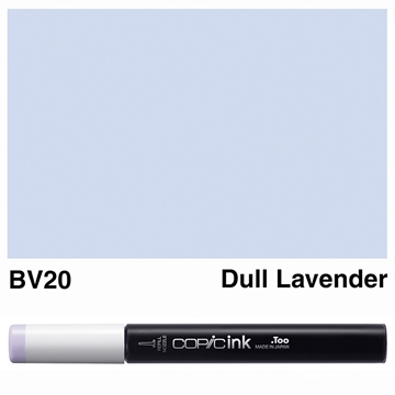 Picture of Copic Ink BV20 - Dull Lavender 12ml