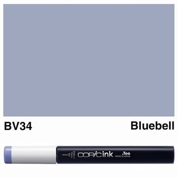 Picture of Copic Ink BV34 - Bluebell 12ml