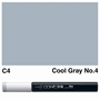 Picture of Copic Ink C4 - Cool Gray No.4 12ml